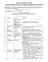 Compte rendu du Conseil Municipal du26/09